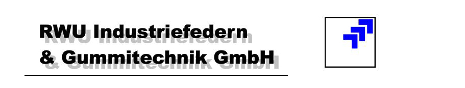Logo von RWU Industriefedern & Gummitechnik GmbH -
